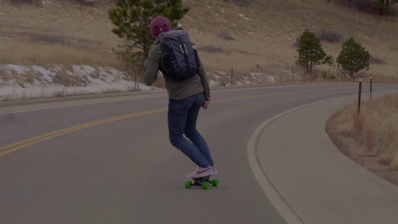 Urban E-Skateboard V1 (Orange) video thumbnail