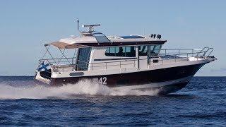 Морской всепогодный катер Nord Star 42 Patrol Купить катер для дальних путешествий