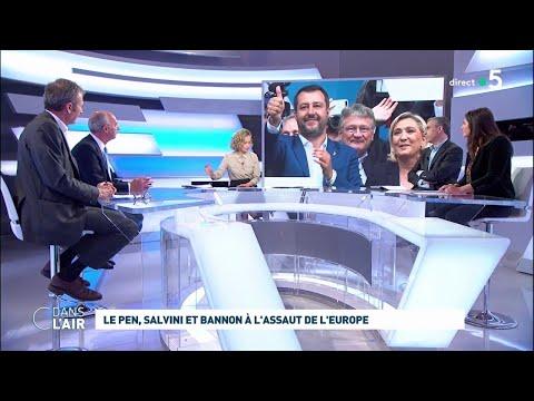 Le Pen, Salvini Et Bannon à L'assaut De L'Europe #cdanslair 20.05.2019