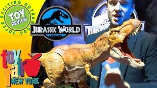 Jurassic World 2: Fallen Kingdom Toys by Mattel - New York Toy Fair 2018 - SEO Toy Review