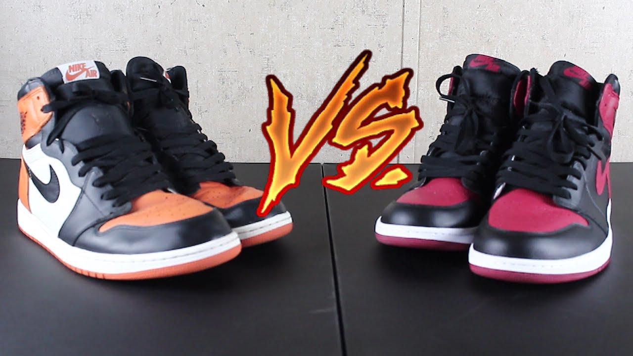 944b458332e9be Air Jordan 1 Banned vs Shattered Backboard - YouTube