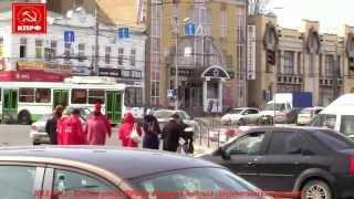 2013.04.12 - Иваново - Красная улица КПРФ на Фридриха Энгельса (Шереметьевский проспект)
