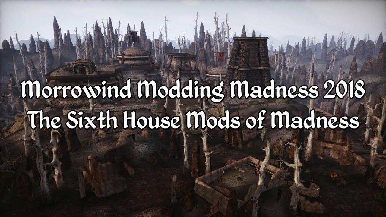 Morrowind Modding Showcases Sixth House Mods 2018