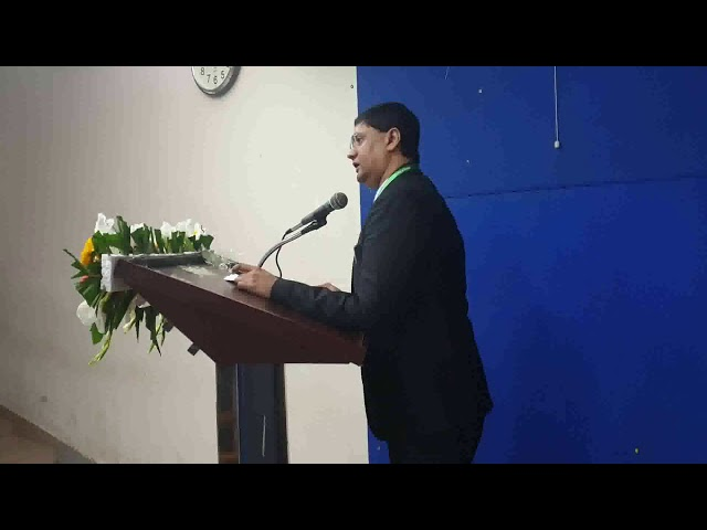 Dr. Mohammad Gauhar speech at University of Dhaka, Bangladesh