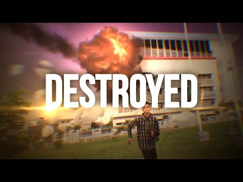 After Effects Series: Meteor Effects & CG Building Destroyed test