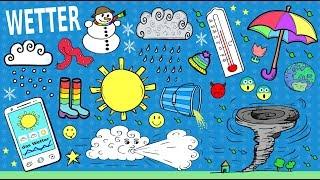 Deutsche Dialoge: Über das Wetter reden / small talk about the weather in German