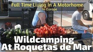 Wild Camping At Roquetas de Mar