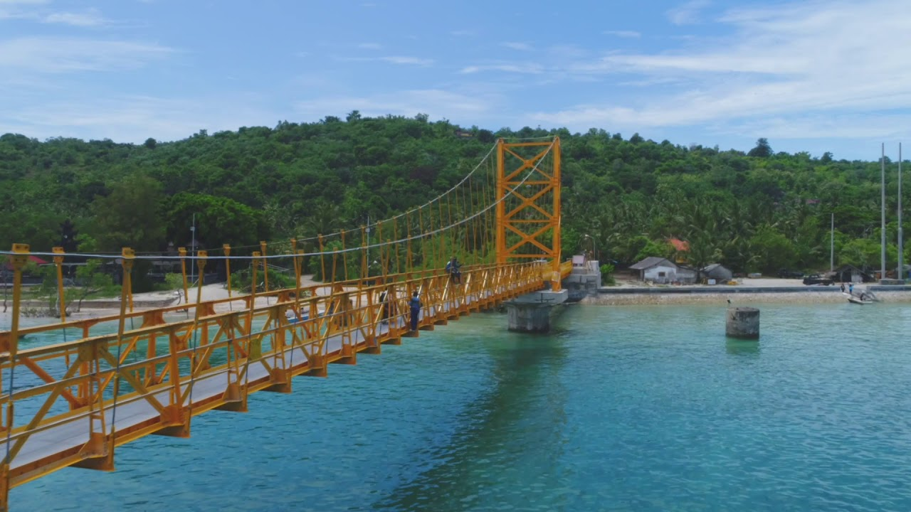 Image result for the yellow bridge nusa ceningan