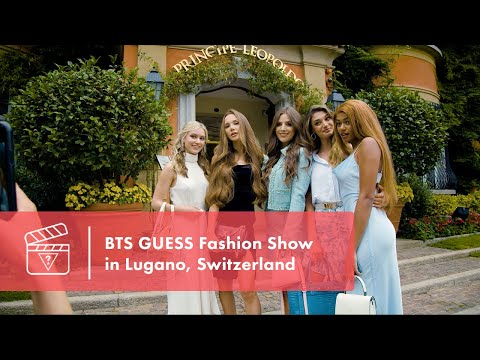 BTS GUESS Fashion Show in Lugano