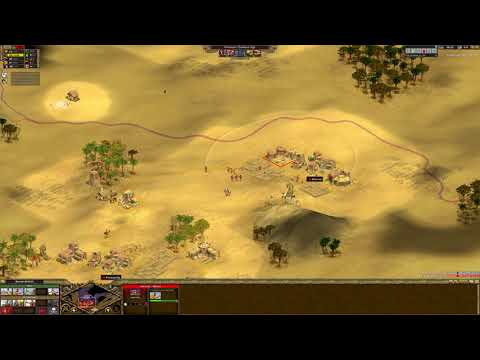 [Rise of Nations] |Standard 1v1| |IND|_DangerousDave(Chinese) Vs FUN_Galahad_ex_AOI(Nubians) [2012]
