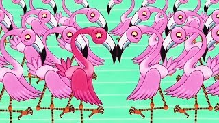 Tinga Tinga Tales Official | Why Flamingo Stands on One Leg | Cartoons For Children