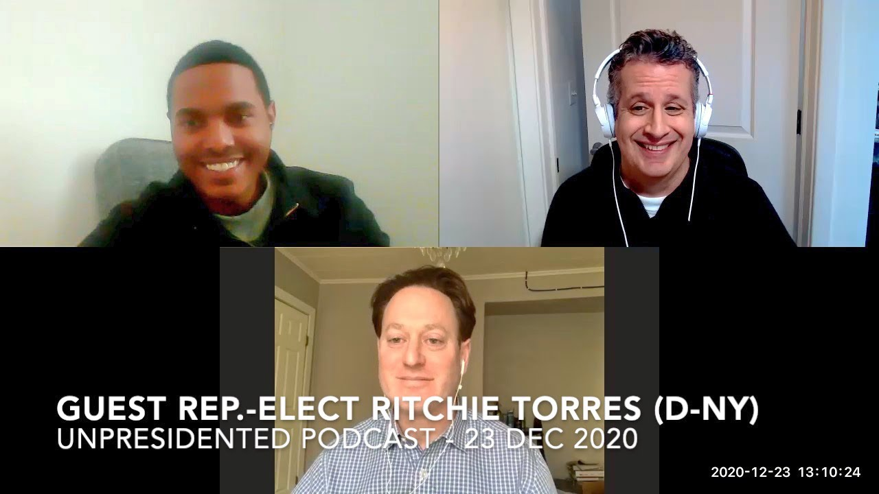 Cong.-elect Ritchie Torres (D-NY) on Trump, Biden and 2021