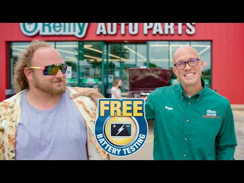 Free Automotive Battery Testing | O'Reilly Auto Parts Store Service
