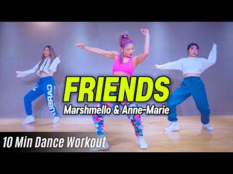 [Dance Workout] FRIENDS - Marshmello & Anne-Marie   MYLEE Cardio Dance Workout   마일리 다이어트 댄스