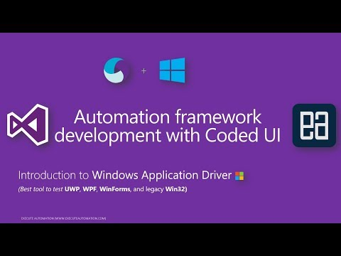 Identify and work with Windows UI element using WinAppDriver