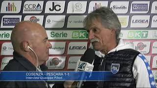 Cosenza - Pescara 1-1: Giuseppe Pillon