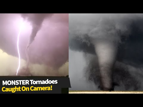 HUGE tornadoes caught on camera