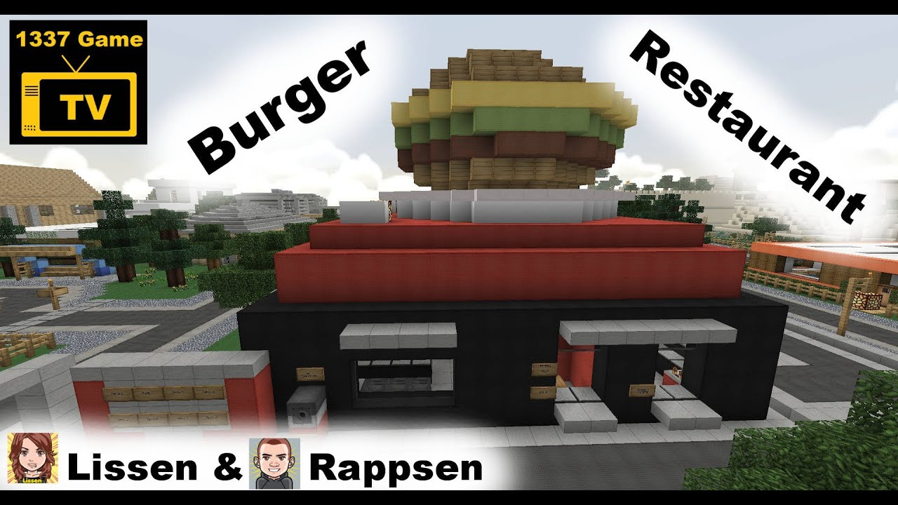 how to make a burger in minecraft