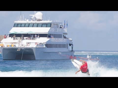 The BEST surf charter in the world. Four Seasons Explorer, Maldives