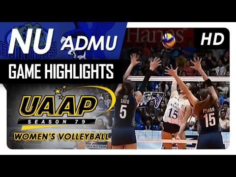 NU vs ADMU | Game Highlights | UAAP 79 WV | March 22, 2017