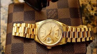 Rolex Day Date President 18038 Full Review - Its a Keeper!