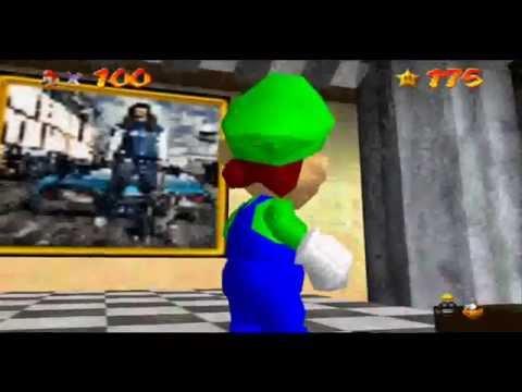 Luigi Model In Super Mario 64