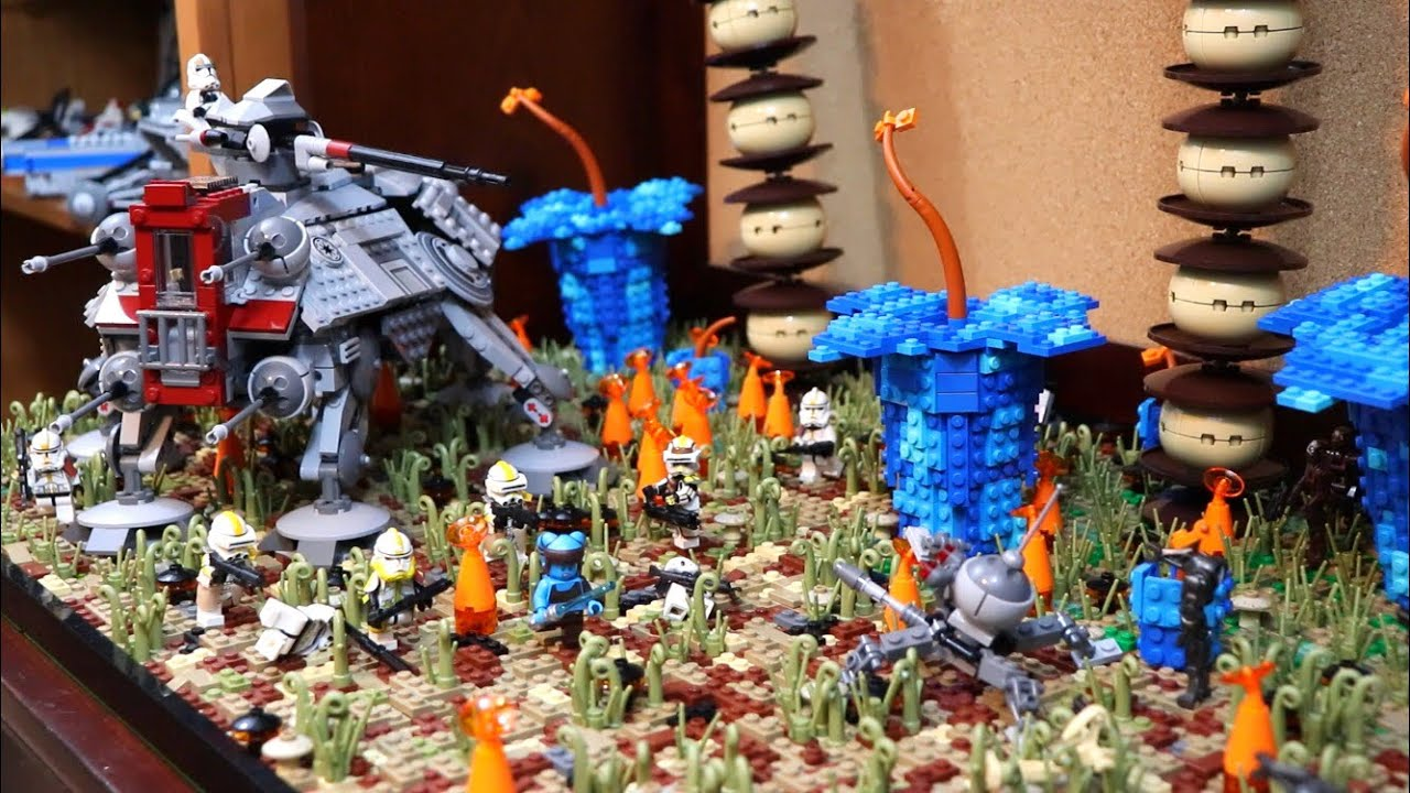 LEGO Star Wars Battle of Felucia MOC #1