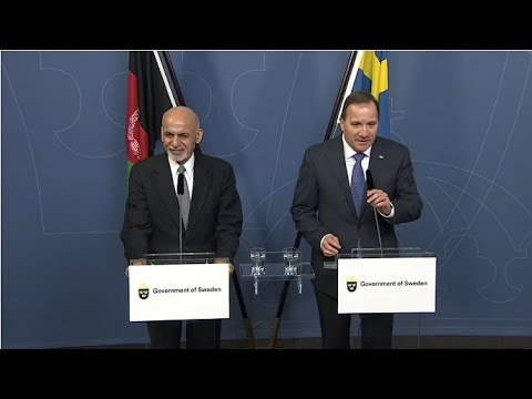 President Ghani and Prime Minister Stefan Lofven Joint Press Conference