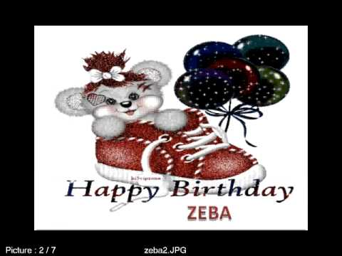Happy Birthday Zeba From Armaan