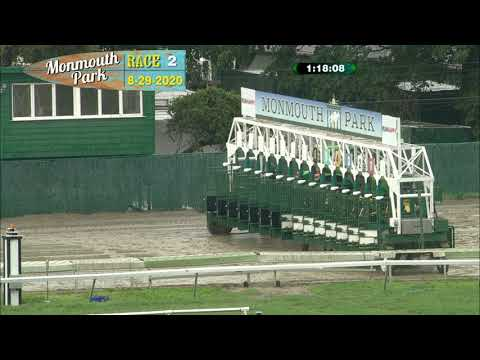 video thumbnail for MONMOUTH PARK 08-29-20 RACE 2