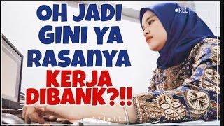 KERJA DI BANK ?! OH GINI YA RASANYA | TIMELAPSE VLOG