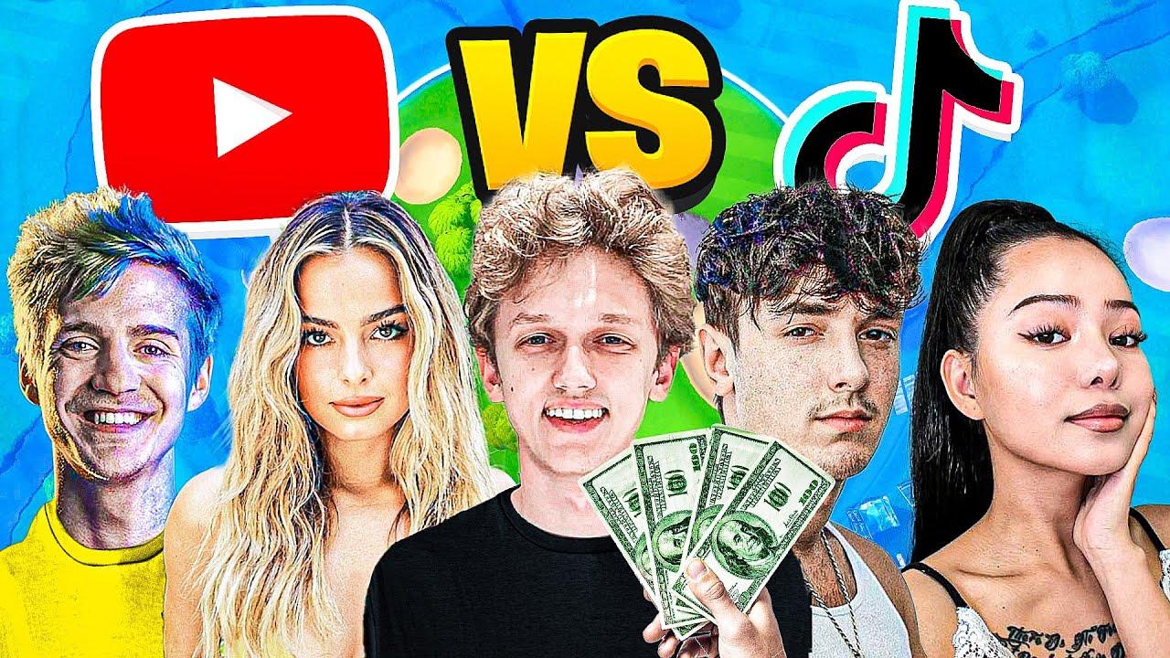 I Hosted a YouTuber vs TikToker Tournament in Fortnite