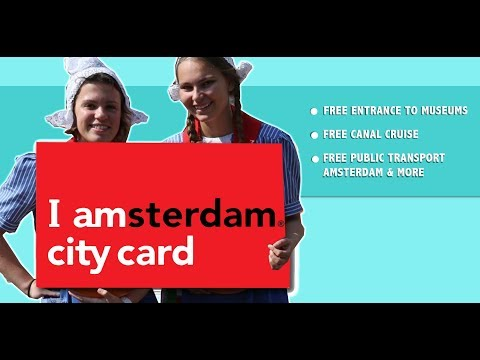 I Amsterdam City Card: can save you time & money