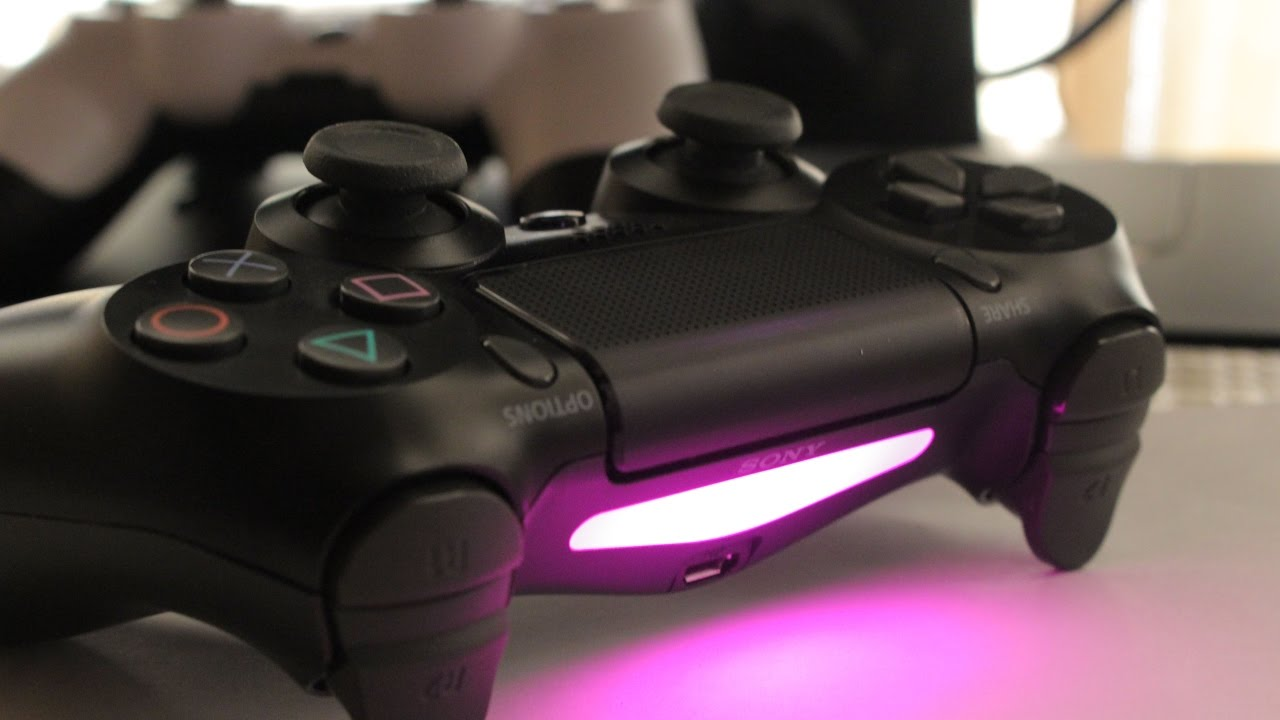 How to change the light bar color on your ps4 controller easy its youtube uninterrupted aloadofball Image collections