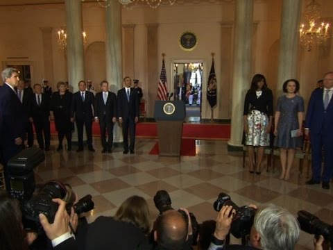 Obama Welcomes Nordic Leaders to White House