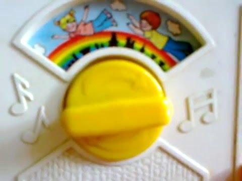 Over the Rainbow music box