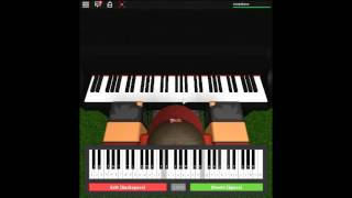 Memory - Undertale by: Toby Fox on a ROBLOX piano.