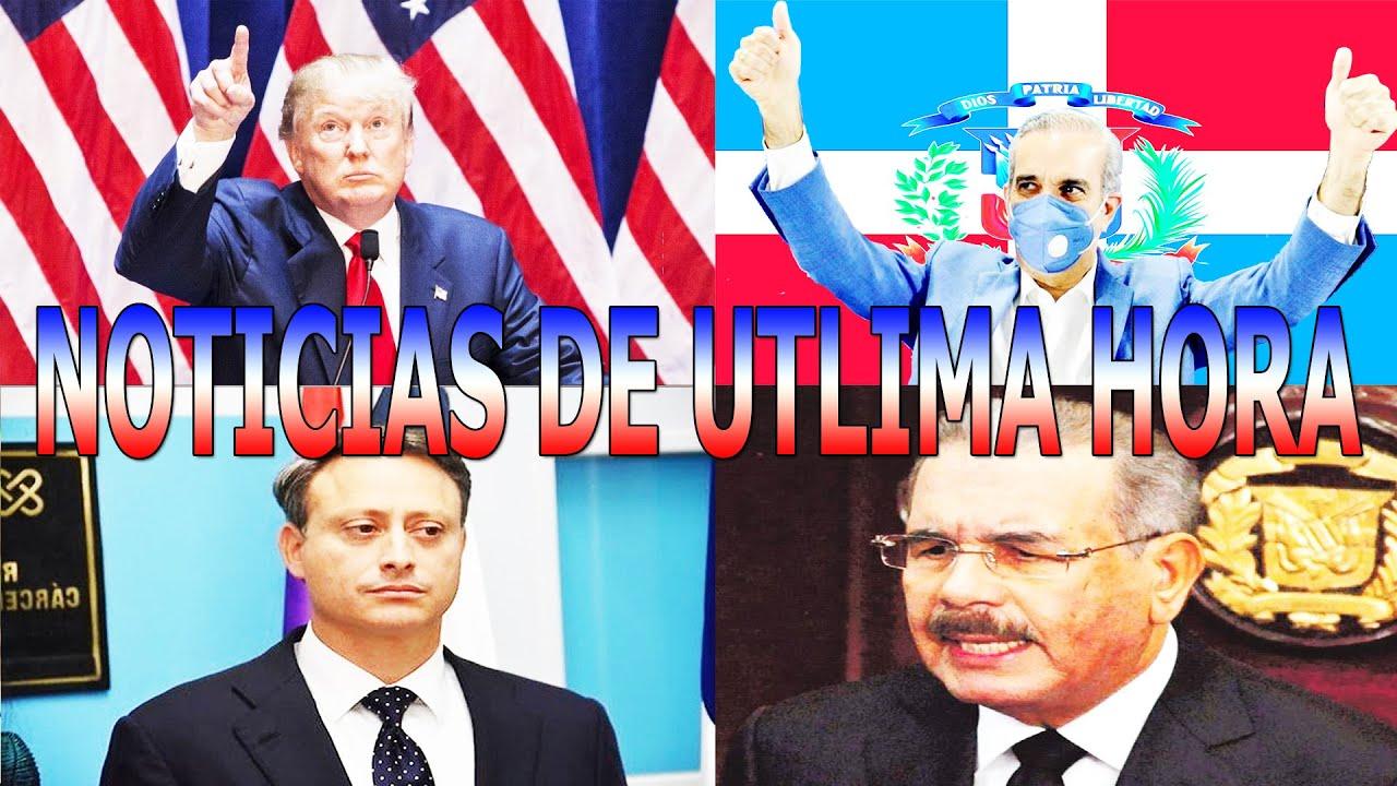 NOTICIAS DE URGENCIA: EEUU MIKE PONPEO VA AL PALACIO CON LUIS ABINADER