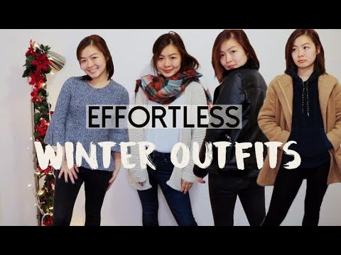 cozy & cute winter outfits   CASUAL WINTER OUTFITS 5