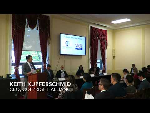 Copyright Alliance Piracy Panel on the Hill - Video 4