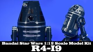 Bandai Star Wars R4-I9 Astromech 6-Inch Action Figure Model Build and Review