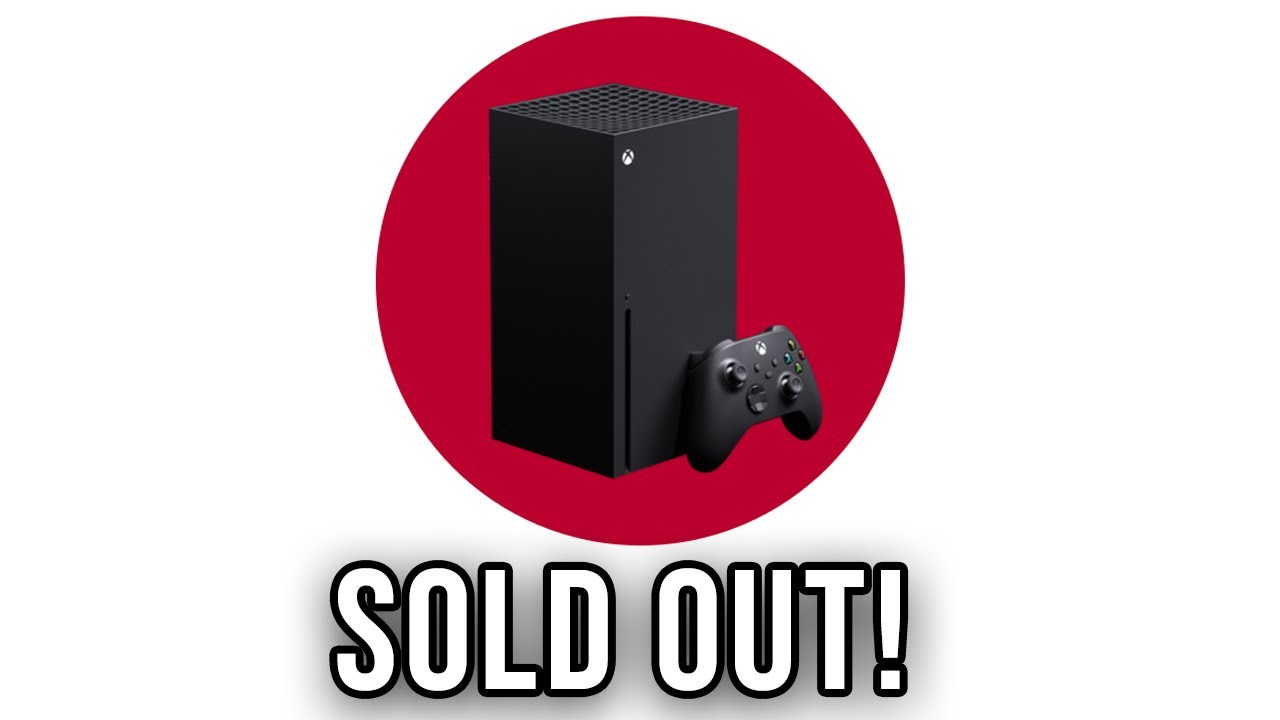 The Xbox Series X Sold Out Fast In Japan Youtube