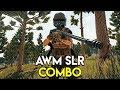 AWM + SLR COMBO - PUBG (PlayerUnknown's Battlegrounds)