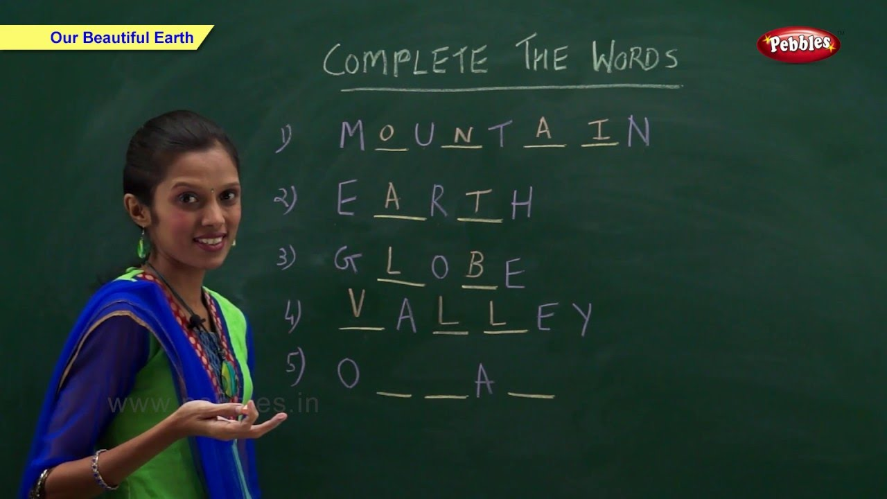 CBSE Class 2 Science : Our Beautiful Earth : Class 2 ...