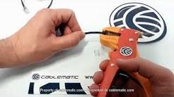 wie man eine RJ11-Stecker für Telefon-Kabelhalterung