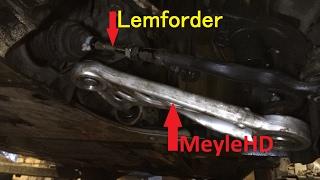 Wishbone MEYLE HD + Lemforder Steering - BMW FRONT - рычаг передней нижней подвески + рулевая тяга