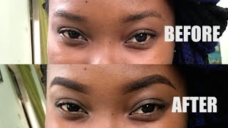 EASY TUTORIAL HOW TO GET YOUR EYEBROWS ON FLEEK