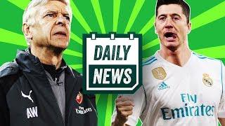 TRANSFERS: Lewandowski wants Madrid move, Bale to Man United, Tevez injured in prison ► Daily News