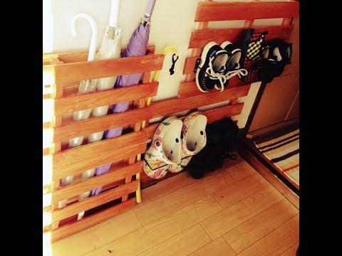 【DIY】100均の商品を使った「玄関収納」が便利でお洒落♡~Convenient and stylish front door storage.