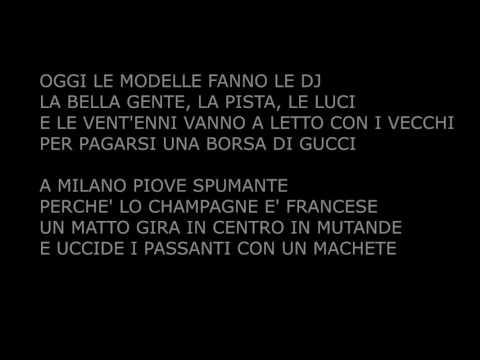 Fabri Fibra - Pamplona ( TESTO + AUDIO ) Music Video Lyrics